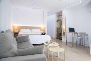 Habitaciones del Hotel Mar Azul en Sanxenxo, Pontevedra