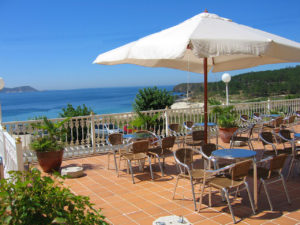 Hotel Mar Azul en Sanxenxo, Pontevedra